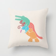 REX's Back Throw Pillow