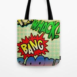 Comic Sounds Tote Bag
