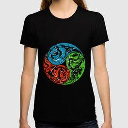 POKéMON STARTER: THREE ELEMENTS T-shirt