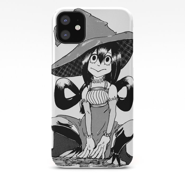 Tsuyu Asui Witch Iphone Case By Naviiart