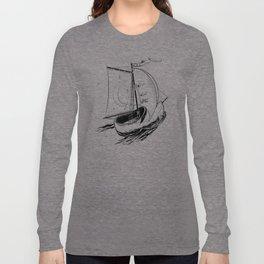 Wooden shoe sailer Long Sleeve T-shirt