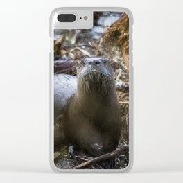Sensed But Not Seen Clear iPhone Case