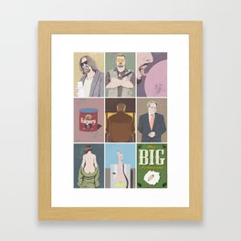 The Big Lebowski poster Framed Art Print