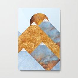 Modern Mountain No5-P2 Metal Print