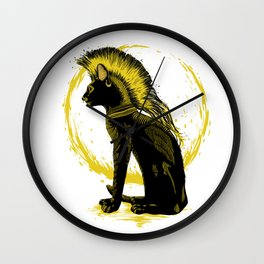 The King of the Light Wall Clock