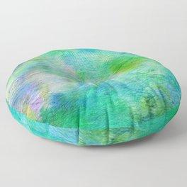 Abstract No. 664 Floor Pillow