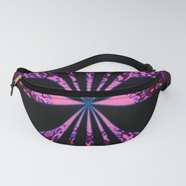 Juicy Wiggle Abstract Fanny Pack