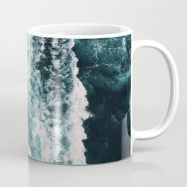 Green Seas, Yes Please Coffee Mug