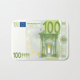 100 Euro Note Bath Mat