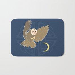 The owl moon Bath Mat