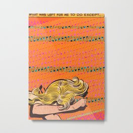 Artist Trading Card #11 Metal Print