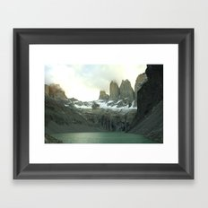 Torres del Paine Framed Art Print