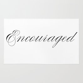 Encouraged Rug