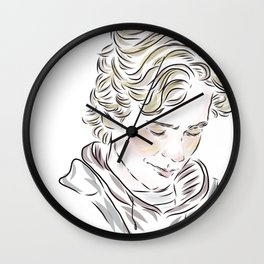 Isak skam Wall Clock