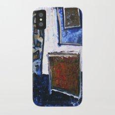 b o x i n g b l u e 1 Slim Case iPhone X