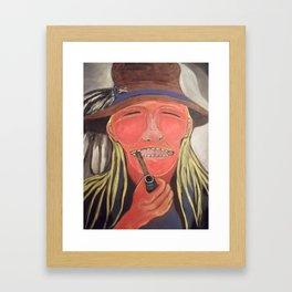 Algonquin Anishnabe Legend Framed Art Print