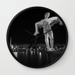 Lyon Weight Wall Clock