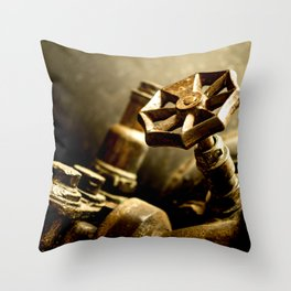 Detail - Locomotive Throw Pillow