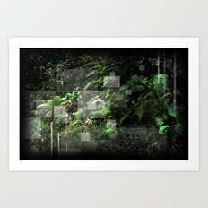 Smoky Mountain Jungle Art Print