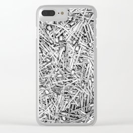 Cutlery Clear iPhone Case
