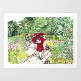 Niagara Falls Botanical Gardens Art Print