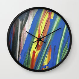 JP Was Here I Wall Clock
