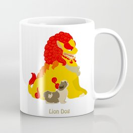 Shih Tzu Foo Dog Coffee Mug