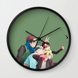 Boruto and Friend Wall Clock