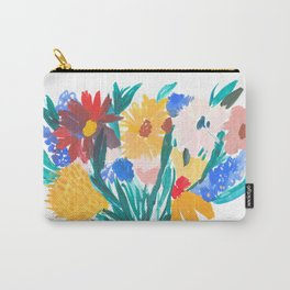 Wild Bouquet Carry-All Pouch