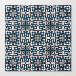 Hypnotic Blue Canvas Print