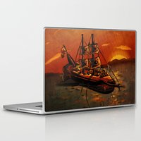 voyage Laptop & iPad Skins featuring Voyage by Craig Holland Illustration