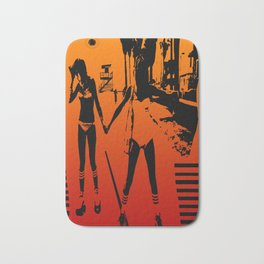 The Girls of Summer Bath Mat