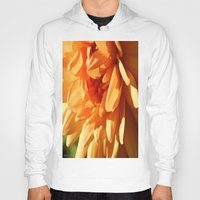 vermont Hoodies featuring Vermont Autumn Golden Flower by Vermont Greetings