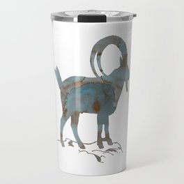 Capra ibex Travel Mug
