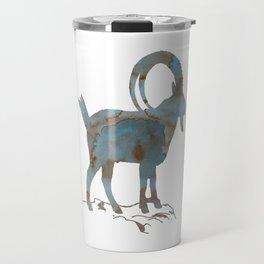 Capra ibex Travel Mug