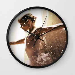 Angel Ballerina Wall Clock