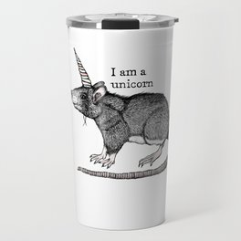 Unicorn Rat Travel Mug