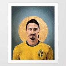 ZI (2016) - Football Icon Art Print