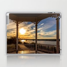 Mississippi River Gazebo Laptop & iPad Skin