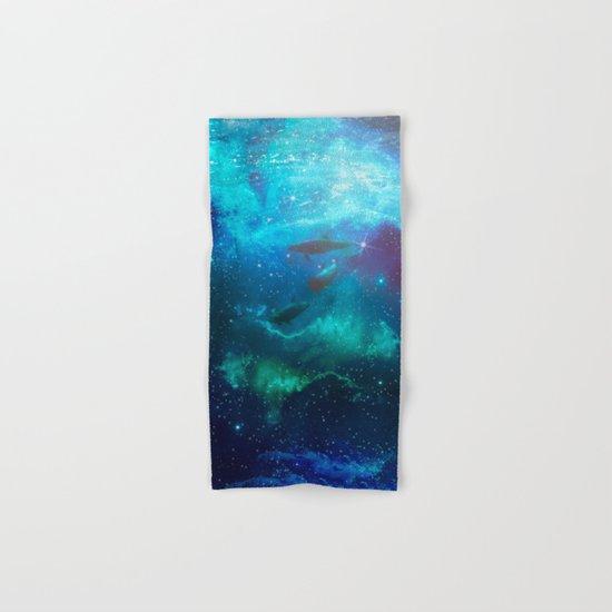Mystic dolphins Hand & Bath Towel