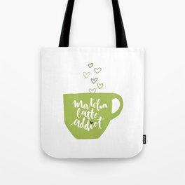 Matcha Latte Addict Tote Bag