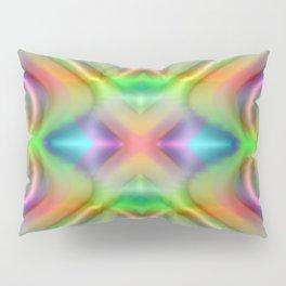 Softly rainbow plastic Pillow Sham