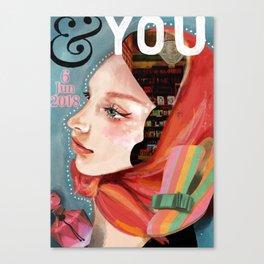 &YOU  vol.2 Canvas Print