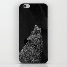 Midnight Wolf iPhone & iPod Skin