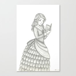 Victorian Girl Canvas Print