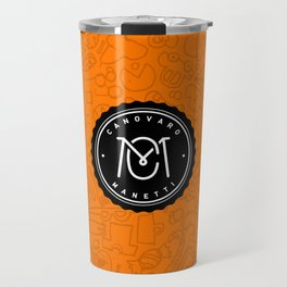 Orange Canovaro Manetti  Travel Mug