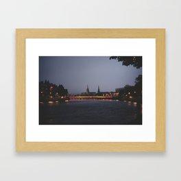 Inverness, i Framed Art Print