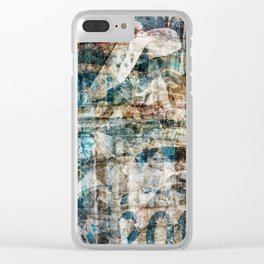 Torn Posters 1 Clear iPhone Case