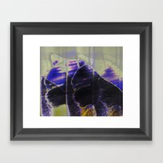 Essence of Cat Framed Art Print