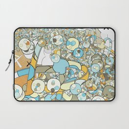 Nested Composition 3 Laptop Sleeve